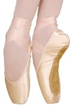 grishko ulanova I pointe shoes medium vamp hard shank