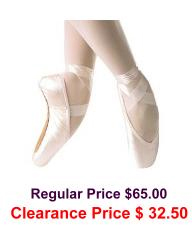 grishko ulanova II pointe shoes deep vamp hard shank