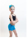 amb design 2013 girls versa shorts adjustable side drawstring shorts