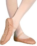 bloch s0205l dansoft ladies full sole leather ballet slippers