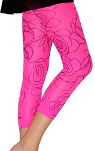 AMB Designs 1226 Deco Rose Footless Leggings