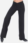 "Eurotard 46655 Adulut Cotton / Lycra  ""V"" Front Jazz Pants"