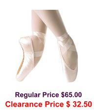 grishko ulanova II pointe shoes deep vamp medium shank