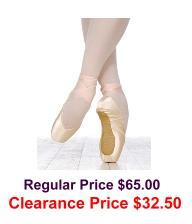 Grishko - Ulanova I Pointe Shoes Medium Vamp Medium Shank - CLEARANCE