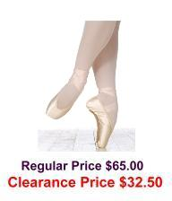 grishko elite pointe shoes hard shank