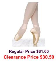 grishko vaganova pointe shoes deep vamp medium shank