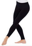 Eurotard 10333 Adult Cotton / Lycra Ankle Leggings / Tights