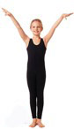 Eurotard 10528 Eurotard   Child Cotton / Lycra Tank Unitard