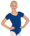 Eurotard 1043 Child Cotton / Lycra  Short Sleeve Leotard