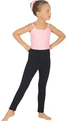 Eurotard 1066 Child Cotton / Lycra Ankle Leggings / Tights