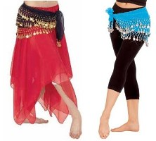 Belly Dance Chiffon Skirts & Hip Skirts