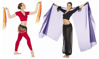 Belly Dance Sashes & Veils