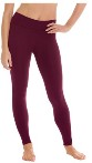eurotard 44337 women's contour leggings with tactel microfiber color swatch