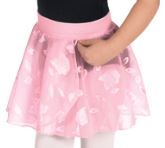 eurotard 01256 child princess rose pull on skirt