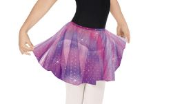 eurotard 02283 child sparkle tulle pull-on skirt color swatch