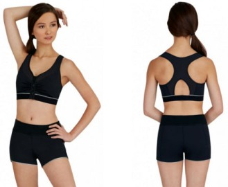 capezio 10259 dance active bra top