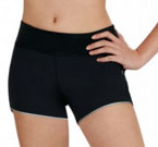 capezio 10260 dance active shorts