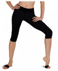 capezio 10262 capri workout pant color swatch