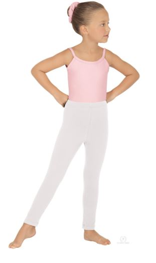 eurotard 1066 child cotton lycra ankle legging tights