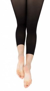 capezio 1870 ultra soft hip rider capri tight front back
