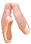 grishko fortte pro pointe shoe color swatch