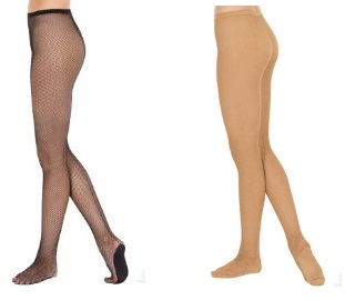 eurotard 214 adult back seam fishnet tights color swatch