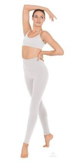 eurotard 34942 adult microfiber leggings medium center