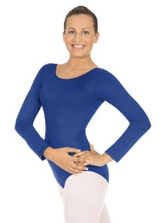 eurotard 44265 adult microfiber long sleeve leotard