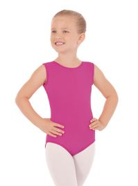 eurotard 4402 child mircrofiber classic tank leotard