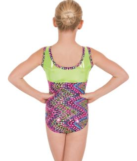 euotard 54550 dizzy dots leotard