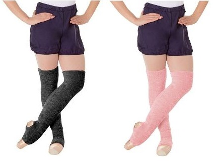 body wrappers 198 adult stirrup leg warmers color swatch