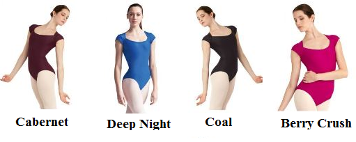 capezio 10486w wesit side leotard color swatch