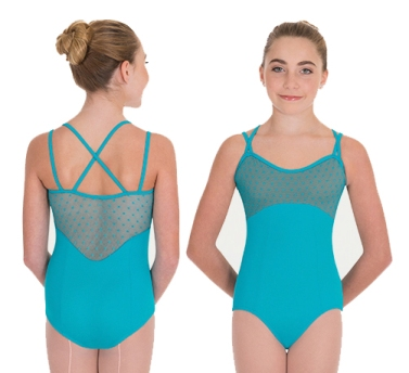 bw p1112 diamond mesh cami leotard