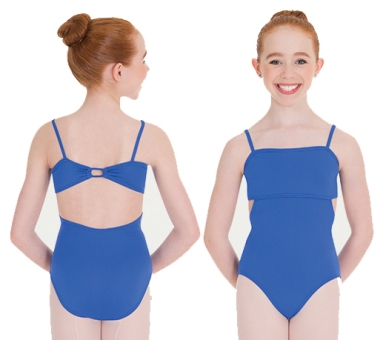 body wrappers p1170 child loop back camisole leotard