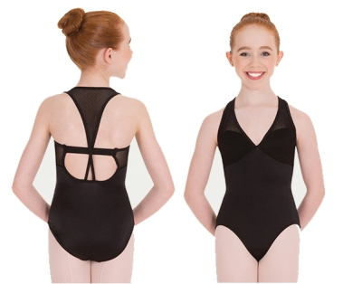 body wrappers p1180 pointelle mesh racerback leotard