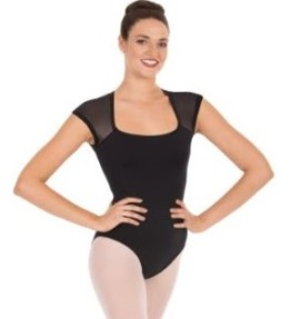 eurotard 44818 adult classic mesh back leotard color swatch