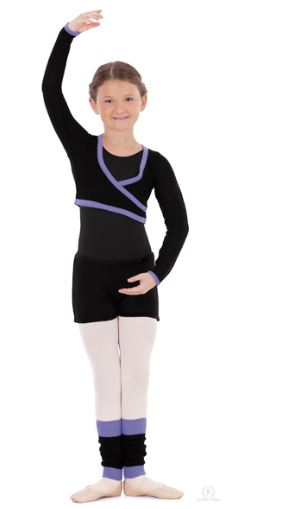 5e0840ce0083d eurotard 72510C long sleeve mock wrap sweater,eu 72510C,dance shrug ...