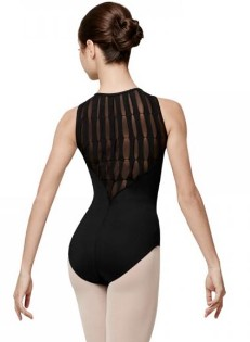 bloch l7725 laguna high back tank leotard back