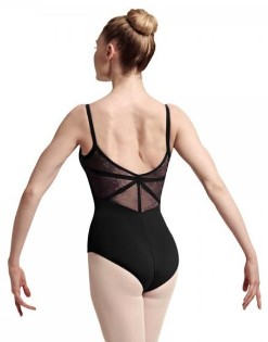 bloch l7727 eyal camisole leotard back color swatch