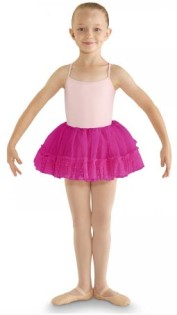 bl cr8111 girls fluffy heart mesh tutu center