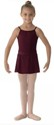 bl ms12ch girls georgette mock wrap skirt burgundy color swatch