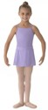 bl ms12ch girls georgette mock wrap skirt lilac color swatch