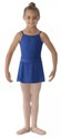 bl ms12ch girls georgette mock wrap skirt royal blue color swatch