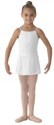 bl ms12ch girls georgette mock wrap skirt white color swatch