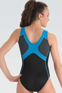 gk elite 3744 gymtek cool air gymnastics leotard back