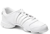 bloch s0514l ladies trinity dance sneaker white color swatch
