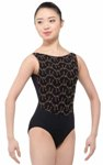 br lorrelle fashion leotard black-coffee