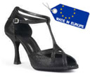 portdance pd505 premium ballroom shoe black color swatch