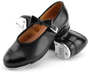 bloch s0352 ladies mary jane tap shoes black color swatch