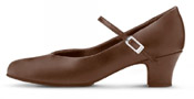 bloch s0379l ladies broadway lo character shoes cocoa color swatch